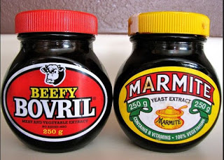 Bovril and Marmite
