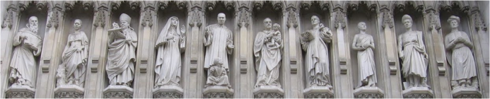 Westminster statues